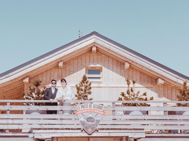 Le mariage de Julien et Amandine à Saint-Gervais-les-Bains, Haute-Savoie 36