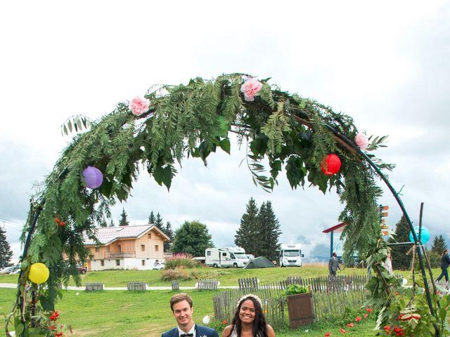 Le mariage de Romain et Janyce à Crest-Voland, Savoie 6