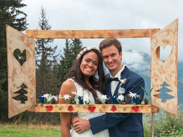 Le mariage de Romain et Janyce à Crest-Voland, Savoie 1