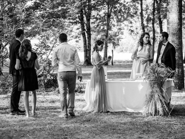 Le mariage de Thomas et Anaïs à Miramont-de-Guyenne, Lot-et-Garonne 74