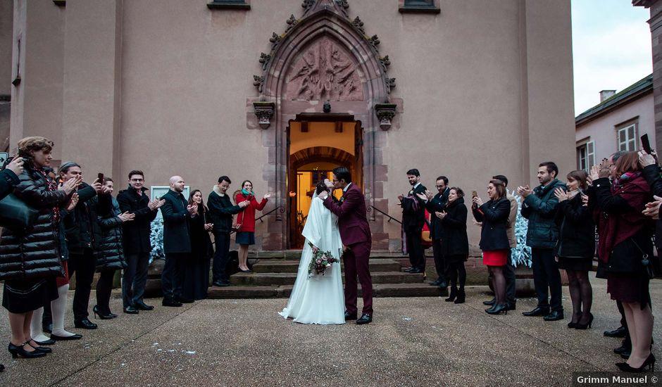 Le mariage de Jean-Denis et Ena à Sélestat, Bas Rhin