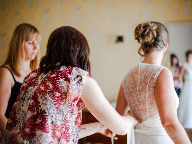 Le mariage de Fabien et Tiphaine à Beillé, Sarthe 7