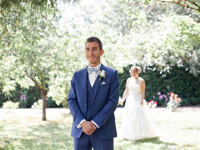 Le mariage de Fabien et Tiphaine à Beillé, Sarthe 21