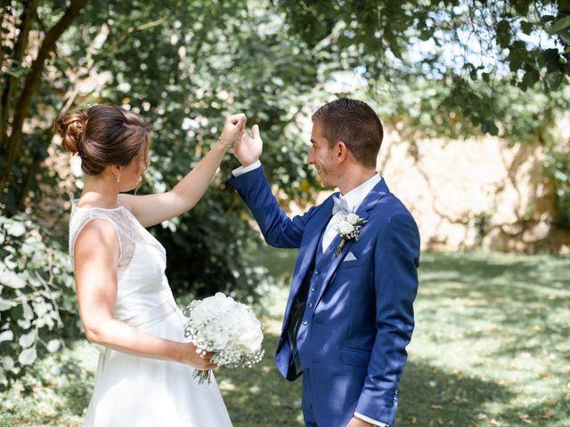 Le mariage de Fabien et Tiphaine à Beillé, Sarthe 25