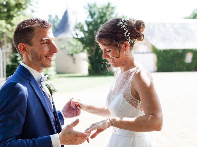 Le mariage de Fabien et Tiphaine à Beillé, Sarthe 31