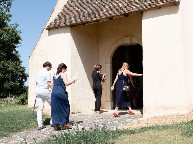 Le mariage de Fabien et Tiphaine à Beillé, Sarthe 57