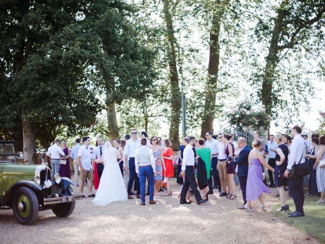 Le mariage de Fabien et Tiphaine à Beillé, Sarthe 80