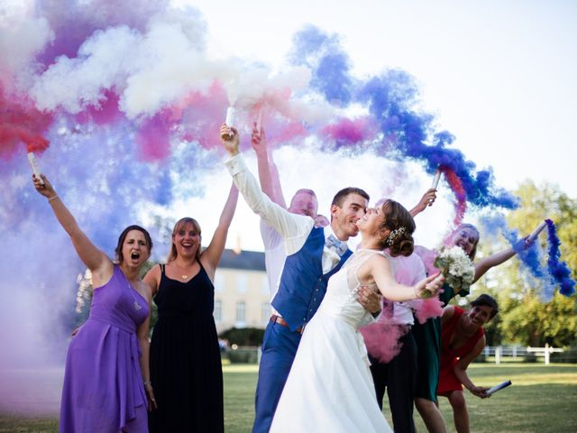 Le mariage de Fabien et Tiphaine à Beillé, Sarthe 108