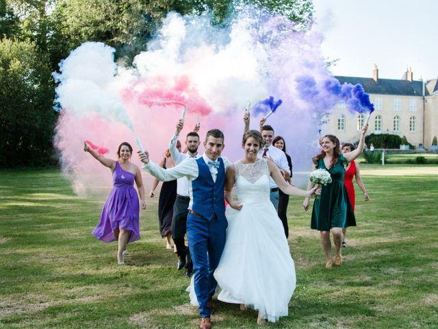 Le mariage de Fabien et Tiphaine à Beillé, Sarthe 117