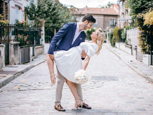 Le mariage de Mickaël et Daniela à Paris, Paris 5