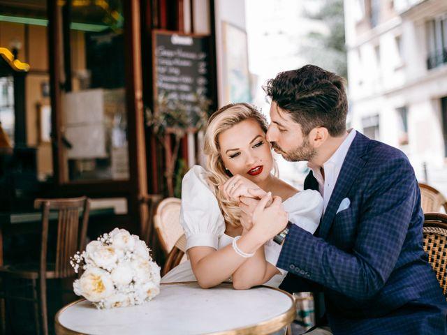 Le mariage de Mickaël et Daniela à Paris, Paris 19
