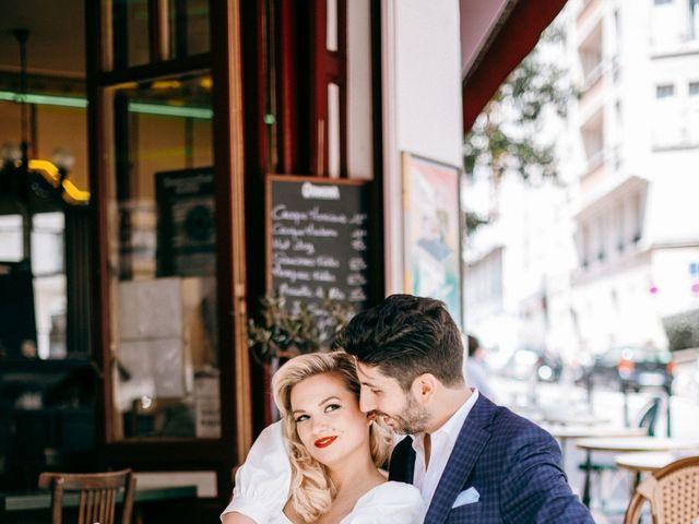 Le mariage de Mickaël et Daniela à Paris, Paris 20