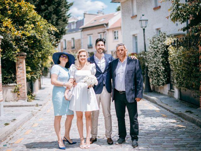 Le mariage de Mickaël et Daniela à Paris, Paris 22