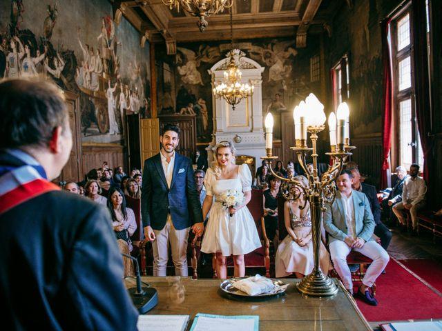 Le mariage de Mickaël et Daniela à Paris, Paris 34