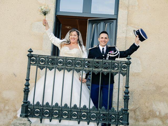 Le mariage de Nicolas et Ambre à Les Essarts, Vendée 90