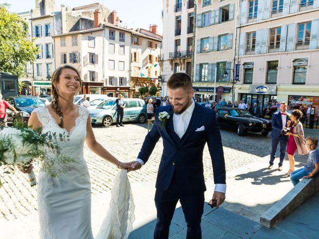Le mariage de Tanguy et Sophie à Le Puy-en-Velay, Haute-Loire 18