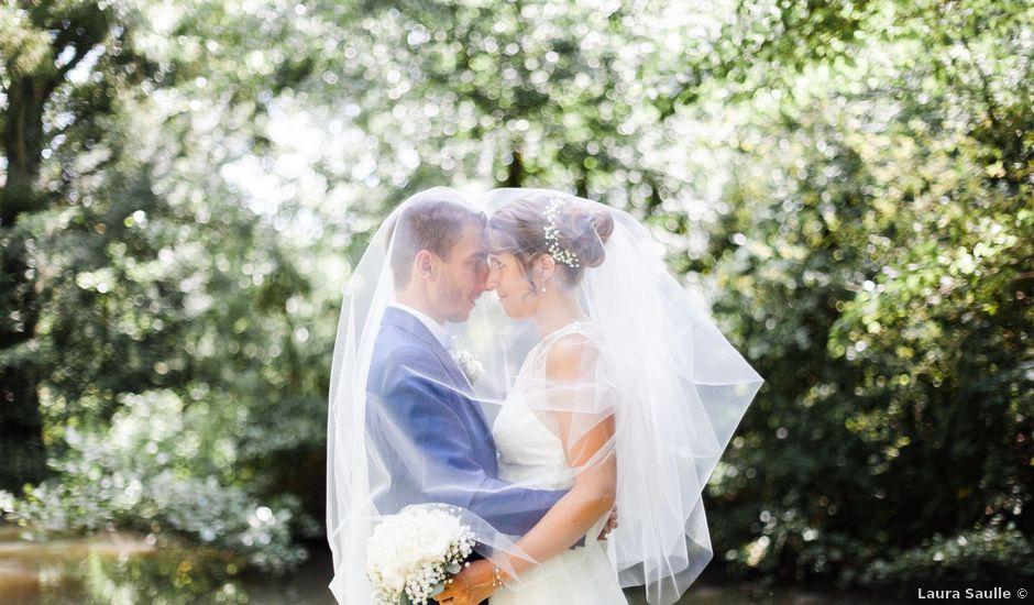 Le mariage de Fabien et Tiphaine à Beillé, Sarthe