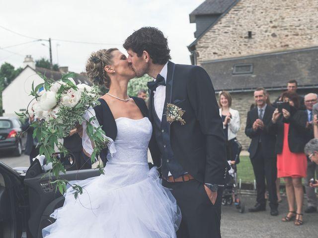 Le mariage de Sylvain et Amandine à Saint-Abraham, Morbihan 2