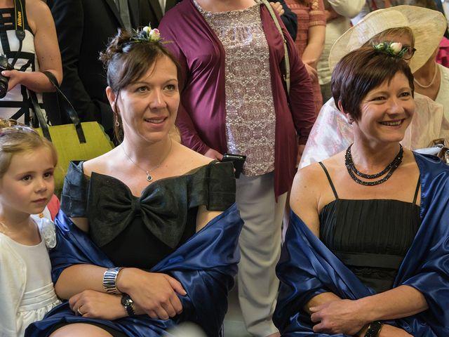 Le mariage de Sylvain et Amandine à Saint-Abraham, Morbihan 5