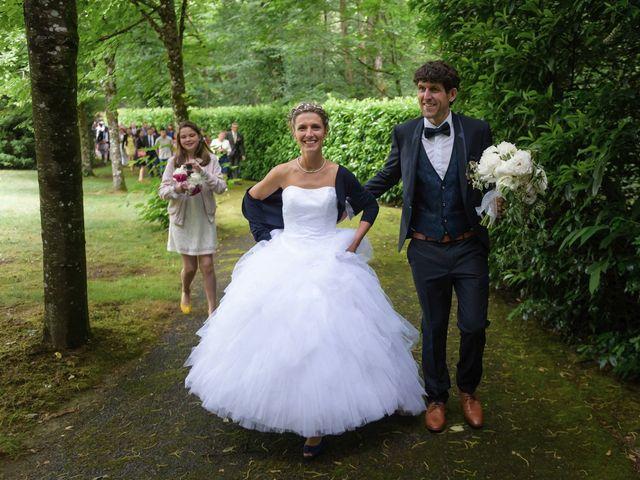 Le mariage de Sylvain et Amandine à Saint-Abraham, Morbihan 11
