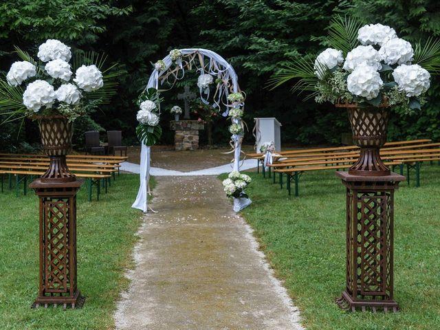 Le mariage de Sylvain et Amandine à Saint-Abraham, Morbihan 14