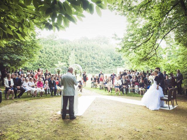 Le mariage de Sylvain et Amandine à Saint-Abraham, Morbihan 17