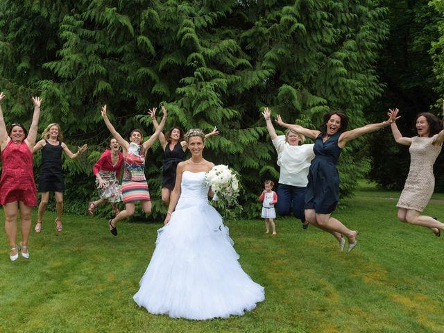 Le mariage de Sylvain et Amandine à Saint-Abraham, Morbihan 22