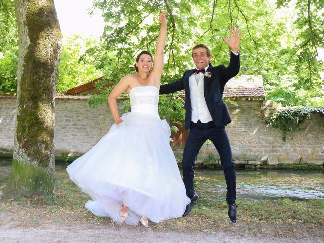 Le mariage de Jocelyn et Hélène à Chailly-sur-Armançon, Côte d'Or 6