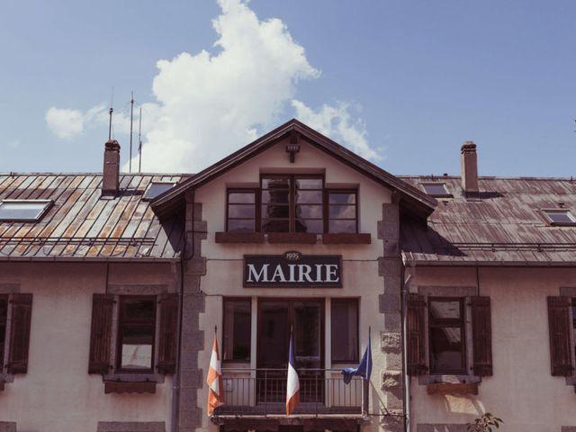 Le mariage de Brice et Marie à Combloux, Haute-Savoie 3