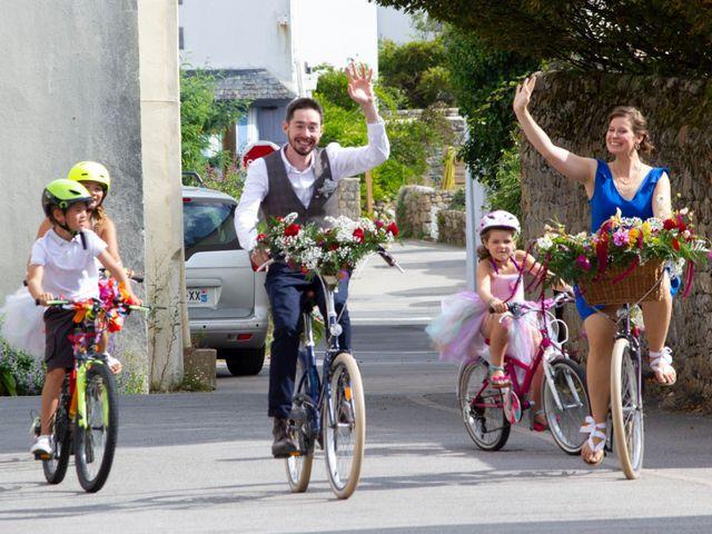 Le mariage de François et Maïwenn à Locmariaquer, Morbihan 6