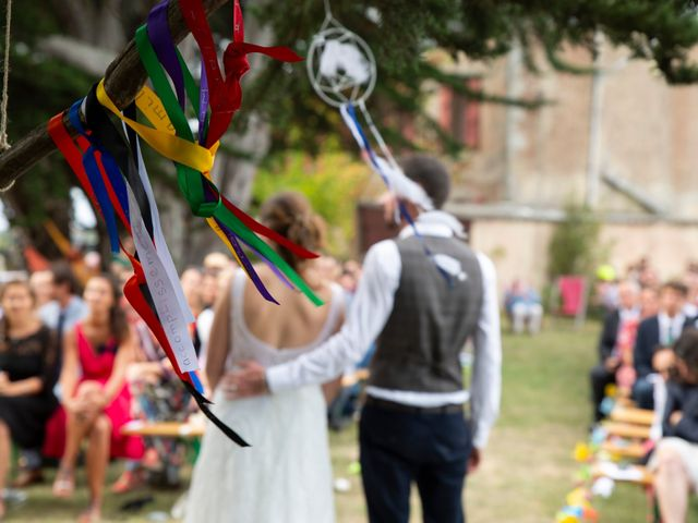 Le mariage de François et Maïwenn à Locmariaquer, Morbihan 1