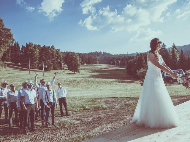 Le mariage de Brice et Marie à Combloux, Haute-Savoie 30