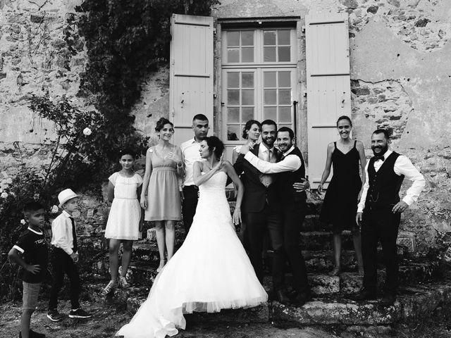 Le mariage de Nicolas et Virginie à Cieux, Haute-Vienne 43