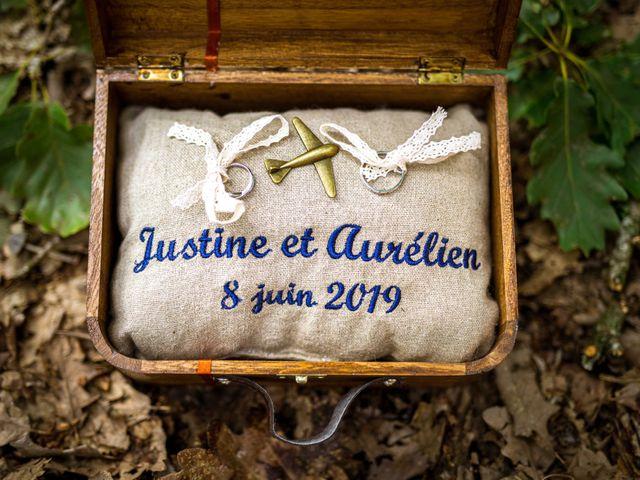 Le mariage de Aurélien et Justine à Yzernay, Maine et Loire 3