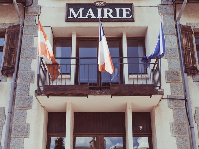 Le mariage de Brice et Marie à Combloux, Haute-Savoie 9
