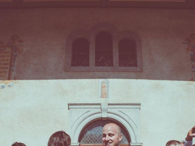 Le mariage de Brice et Marie à Combloux, Haute-Savoie 11
