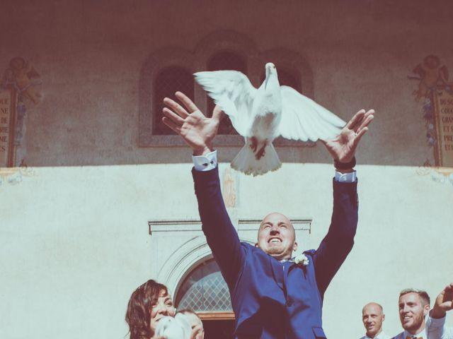 Le mariage de Brice et Marie à Combloux, Haute-Savoie 12