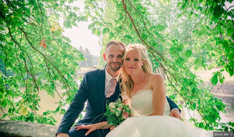 Le mariage de Frédéric et Angélique à Saint-Rémy-en-Rollat, Allier