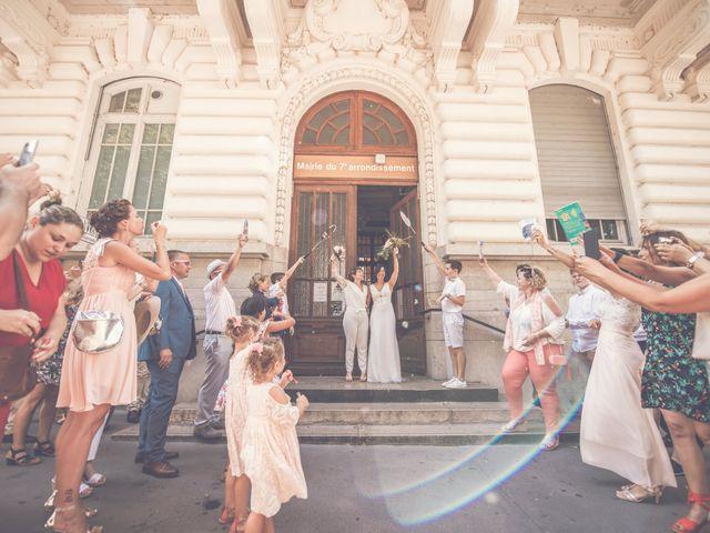 Le mariage de Jade et Marie à Lyon, Rhône 8