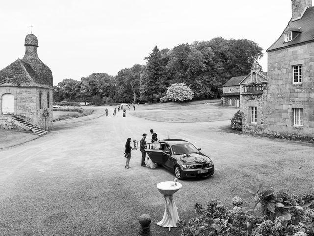 Le mariage de Thibaut et Hajard à Lannion, Côtes d'Armor 8