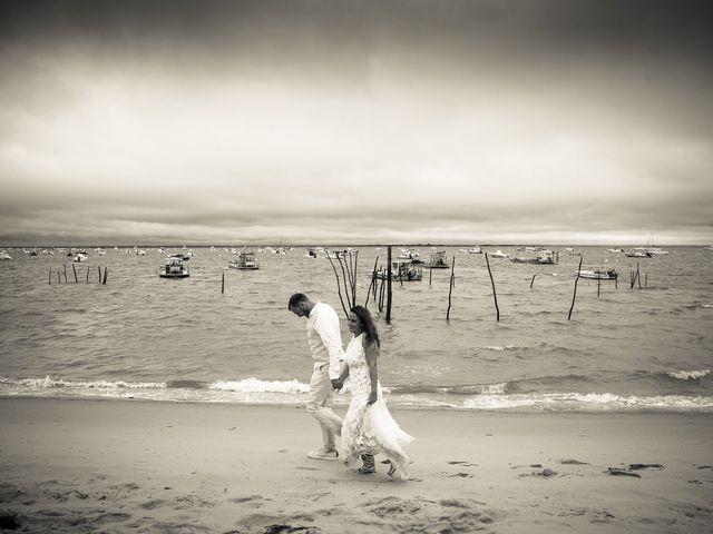 Le mariage de Patrice et Angélique à Cabanac-et-Villagrains, Gironde 47