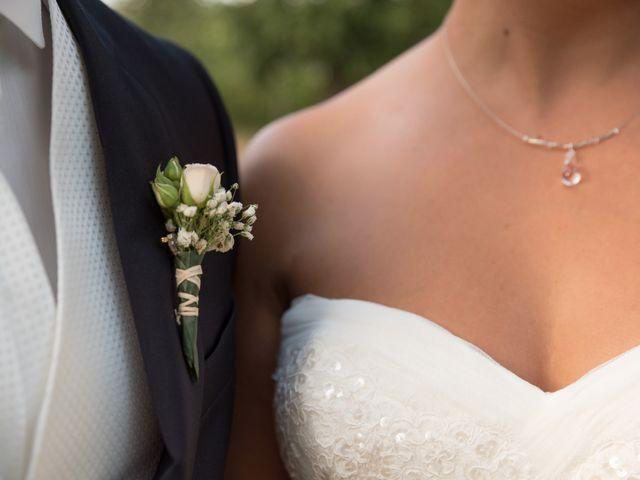 Le mariage de David et Coralie à La Rochefoucauld, Charente 20