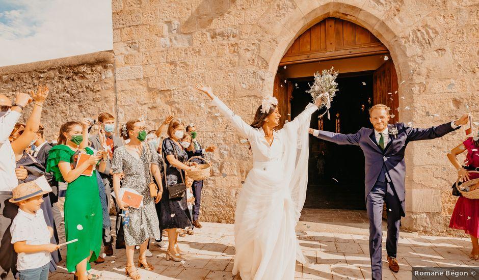 Le mariage de Thomas et Florence à Montesquieu-Lauragais, Haute-Garonne