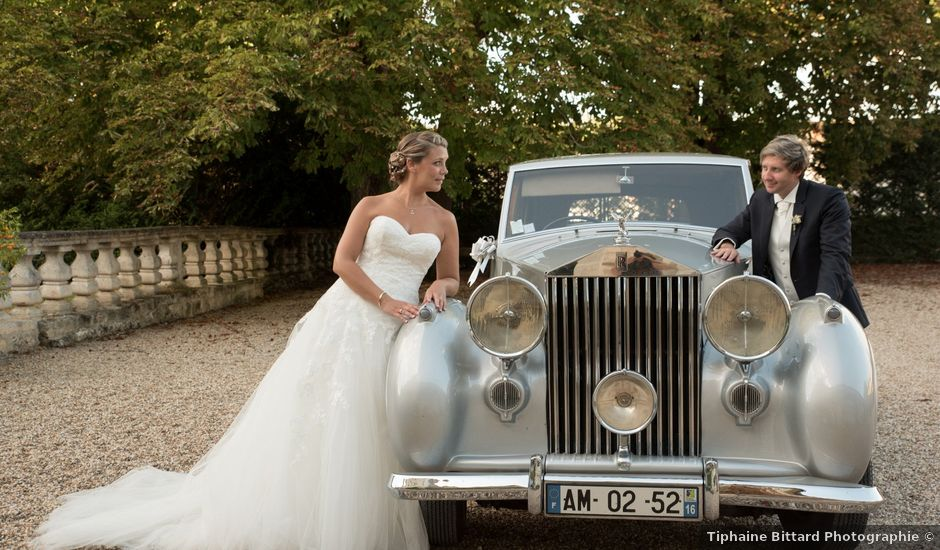 Le mariage de David et Coralie à La Rochefoucauld, Charente
