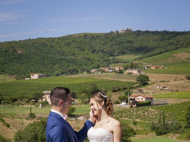 Le mariage de Florian et Eva à Saint-Étienne-des-Oullières, Rhône 6