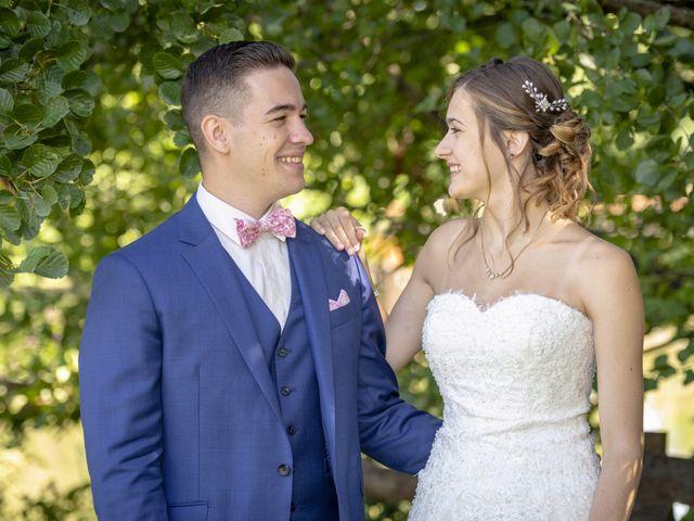 Le mariage de Florian et Eva à Saint-Étienne-des-Oullières, Rhône 9