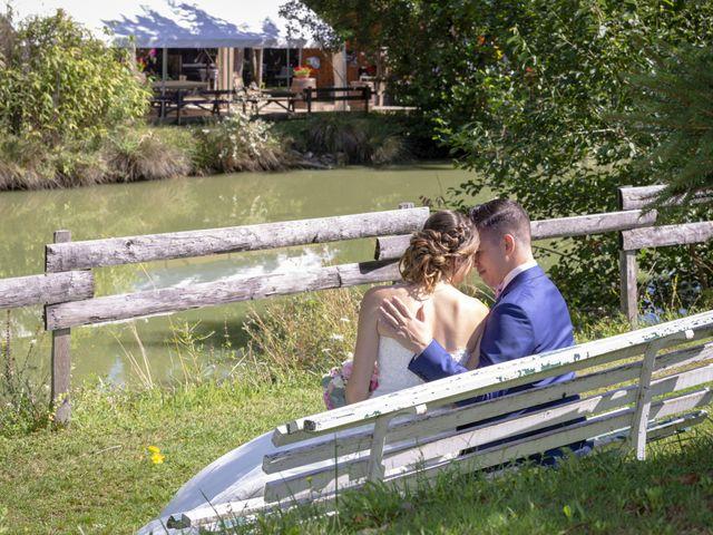 Le mariage de Florian et Eva à Saint-Étienne-des-Oullières, Rhône 10