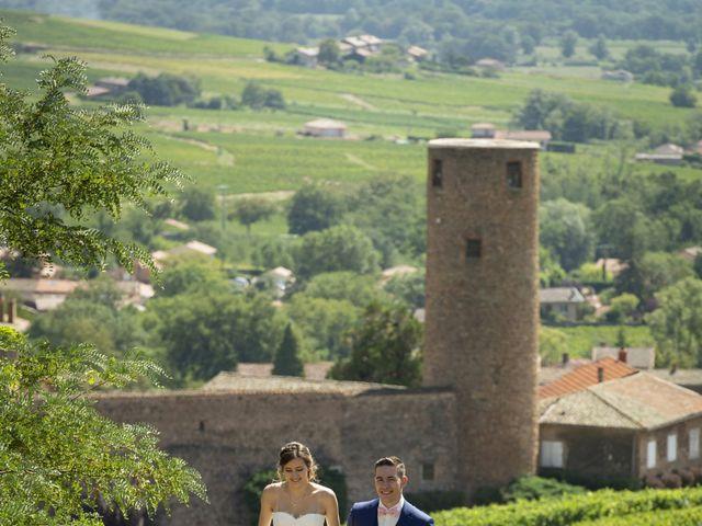 Le mariage de Florian et Eva à Saint-Étienne-des-Oullières, Rhône 15