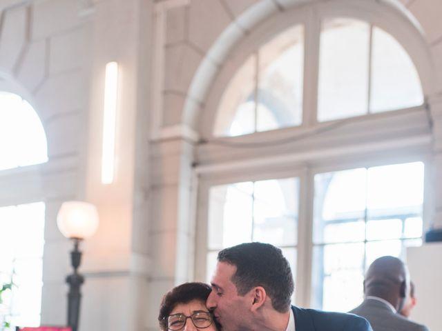 Le mariage de Nabil et Marina à Paris, Paris 6