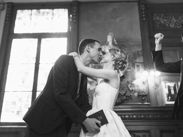 Le mariage de Nabil et Marina à Paris, Paris 14